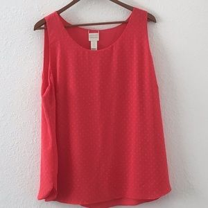 Chico's Lined Summer Top Sz 2